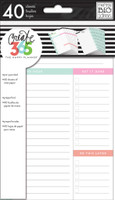 Me and My Big Ideas - The Happy Planner - Daily Sheets - MINI