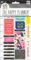 Me and My Big Ideas - The Happy Planner - Planner Stickers - Happy Life