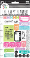 Create 365 - Me and My Big Ideas - The Happy Planner - Planner Stickers - Get Paid