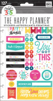Me and My Big Ideas - The Happy Planner - Planner Stickers - Happy Brights
