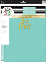 Me and My Big Ideas - The Happy Planner Snap-In Cover - Big Plans / Turquoise - BIG