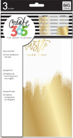 Me and My Big Ideas - The Happy Planner - Dashboards - Gold Foil - 3 Pack - Classic