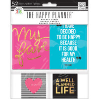 Me and My Big Ideas - The Happy Planner - Pocket Cards - Set of 52