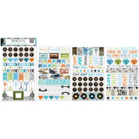 BoBunny - Planner Stickers - Clear - Life In Color