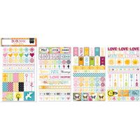 BoBunny - Planner Stickers - Faith - Clear