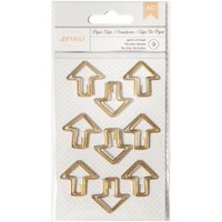Designer Desktop Essentials Paper Clips Small - Arrow - Set of 9