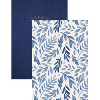 "Kaisercraft - Kaiser Style Pocket Notebooks 4"" x 6"" - Set of 2 - Indigo"