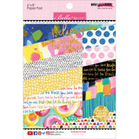 "Bella Blvd Paper Pad 6"" x 8"" - Make Your Mark with Gold Foil"