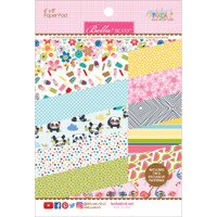 """Bella Blvd Paper Pad 6"""" x 8"""" - Popsicles & Pandas"""