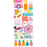 American Crafts - Amy Tangerine - On a Whim - Clear Stickers