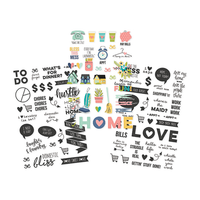Carpe Diem - Simple Stories - Domestic Bliss Clear Stickers
