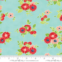 Moda Fabric - The Good Life - Bonnie & Camille - Aqua 55151 12