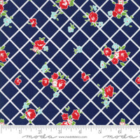 Moda Fabric - The Good Life - Bonnie & Camille  Navy  55153 26