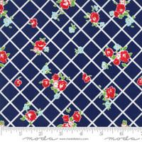 Moda Fabric - The Good Life - Bonnie & Camille  Navy  55153 26