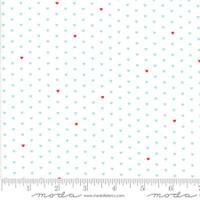 Moda Fabric - The Good Life - Bonnie & Camille  Cream Aqua  55154 12