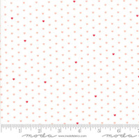 Moda Fabric - The Good Life - Bonnie & Camille  Cream Coral  55154 13