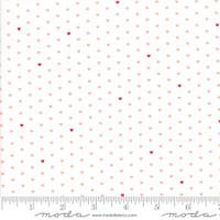 Moda Fabric - The Good Life - Bonnie & Camille  Cream Coral  55154 13