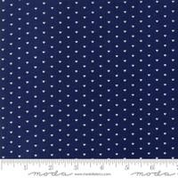 Moda Fabric - The Good Life - Bonnie & Camille  Navy  55154 16