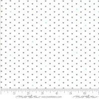 Moda Fabric - The Good Life - Bonnie & Camille  Cream Charcoal 55154 17