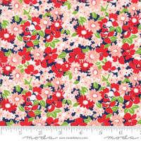 Moda Fabric - The Good Life - Bonnie & Camille  Navy 55155  16
