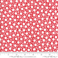 Moda Fabric - The Good Life - Bonnie & Camille  Red 55156  11