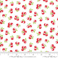 Moda Fabric - The Good Life - Bonnie & Camille  Cream Red  55158  29