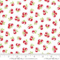 Moda Fabric - The Good Life - Bonnie & Camille  Cream Red  55158  29