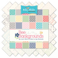 Riley Blake Fabric - Bee Backgrounds - Lori Holt - Fat Quarter Bundle