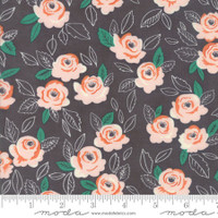Moda Fabric - Sugar Pie - Lella Boutique - Charcoal #5040 13