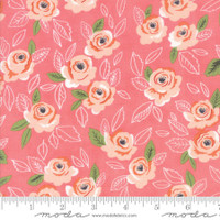 Moda Fabric - Sugar Pie - Lella Boutique - Pink  #5040 19