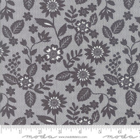 Moda Fabric - Sugar Pie - Lella Boutique - Charcoal  #5041 13