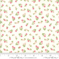 Fabric - Sugar Pie - Lella Boutique - White #5042 11