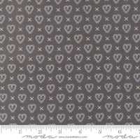 Fabric - Sugar Pie - Lella Boutique - Charcoal  #5043  13