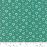 Fabric - Sugar Pie - Lella Boutique - Teal #5043  14