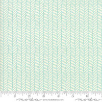 Fabric - Sugar Pie - Lella Boutique - Teal #5044  12