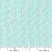 Fabric - Sugar Pie - Lella Boutique - Aqua #5044  15