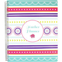 Bloom Daily Planners - Teacher Planner - Medallions (Undated)