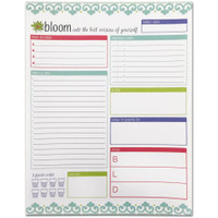 "Bloom Daily Planners - Daily Planning System Pad 8.5"" x 11"""