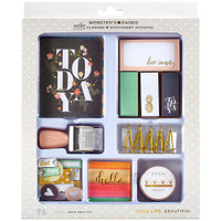 Color Crush Planner & Stationery Accents Kit - Hello Today