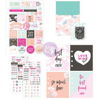 Prima Marketing - My Prima Planner Goodie Pack Embellishments - Friendship and Love