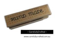Wooden Stamp - Handmade #WS12