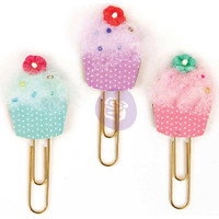 Prima Marketing - My Prima Planner Clips - Cupcakes