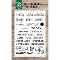 Echo Park Paper - Clear Stamps - Planner Essentials
