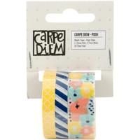 Carpe Diem - Simple Stories - Posh Washi Tape - Set of 3