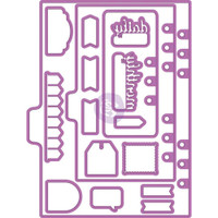 Prima Marketing - My Prima Planner Metal Dies - Shapes #1