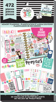 Me and My Big Ideas - The Happy Planner - Value Pack Stickers - Memory Planning - BIG (#472)