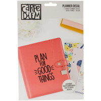 Carpe Diem - Planner Decals - Good Things - Large