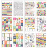 Carpe Diem - Simple Stories - Fitness Stickers A5