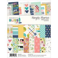 "Carpe Diem - Simple Stories - Domestic Bliss - Paper Pad 6"" x 8"""