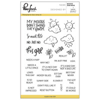 Pinkfresh Studio Clear Stamp Set - Mood Swings